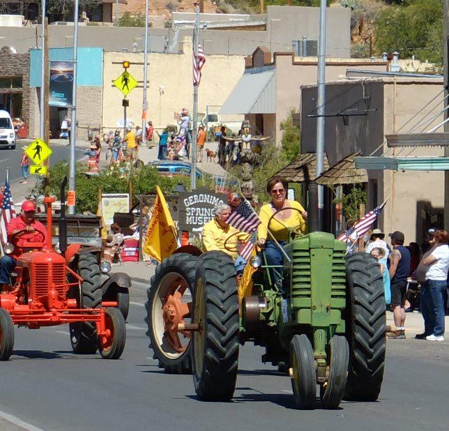 tractors in parade