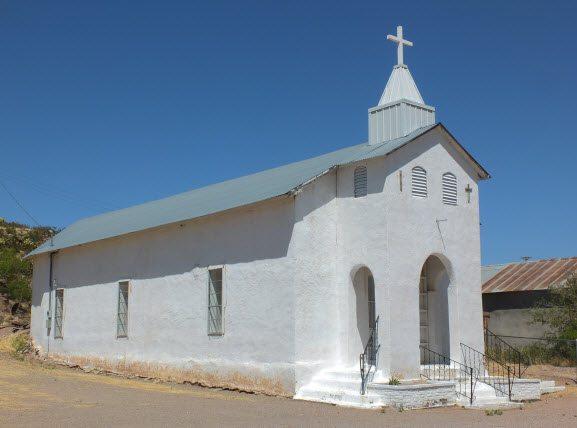 Church at Cuchillo