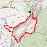 Dot Loop hike route