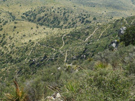 hike Guadalupe Peak Texas