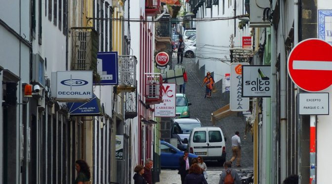 azores streetscape