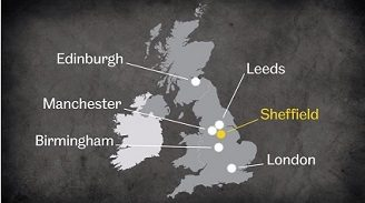 Sheffield location