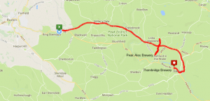 Monsal Trail Route Map