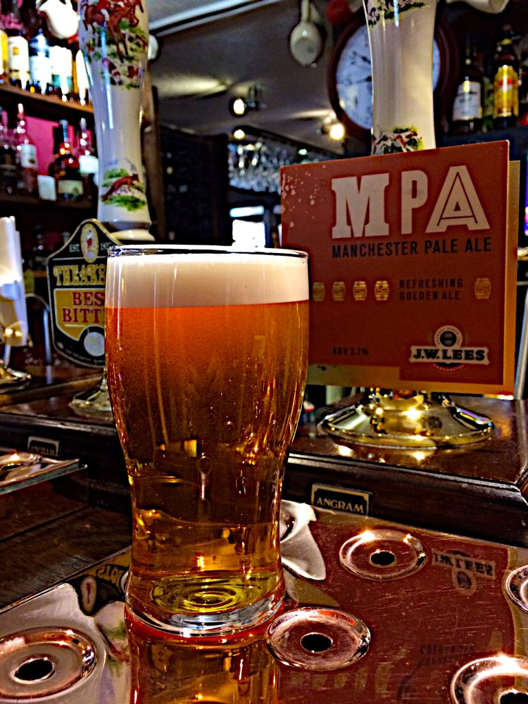 Manchester Pale Ale at the Old Hall