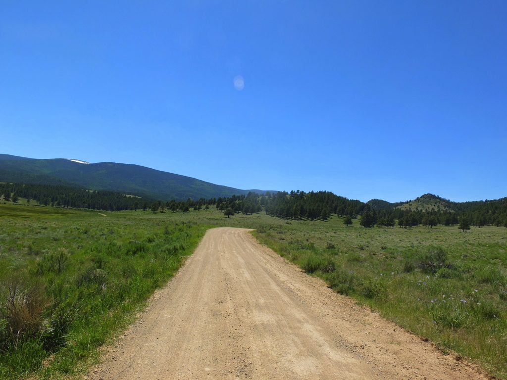 Road to Comanche Creek Brewery