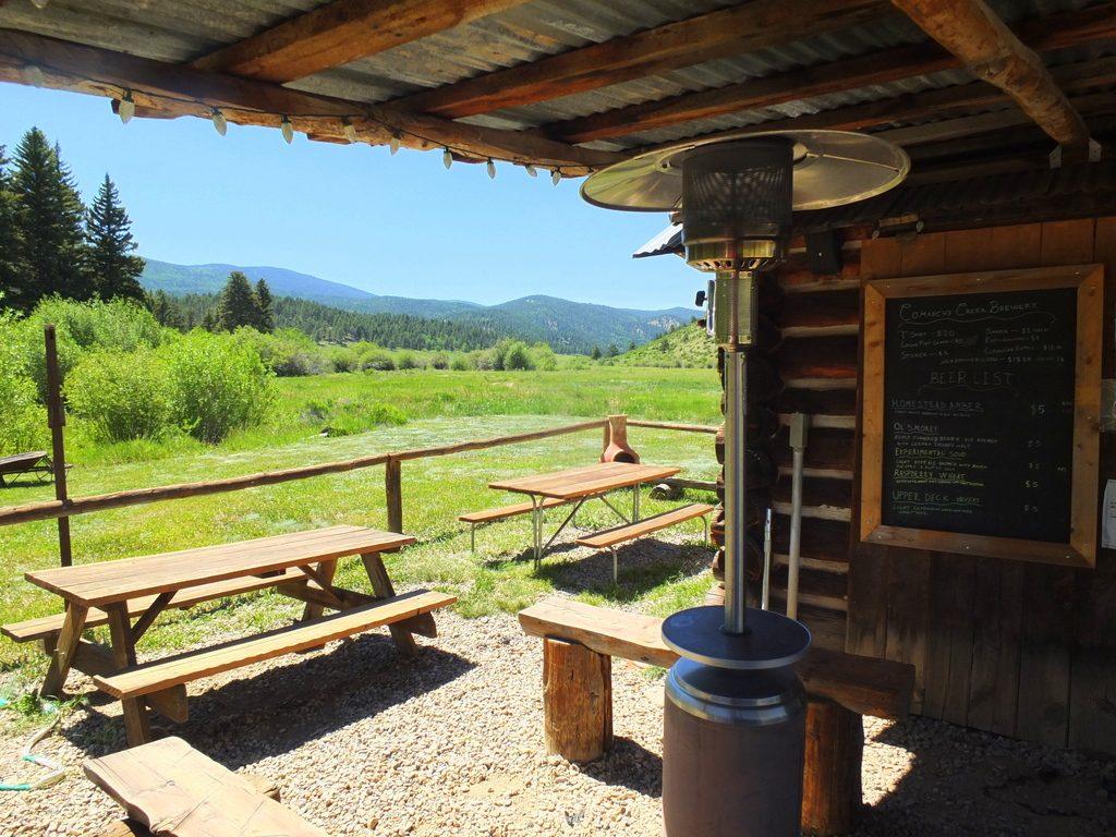 Coyote Creek Brewery Beer Garden