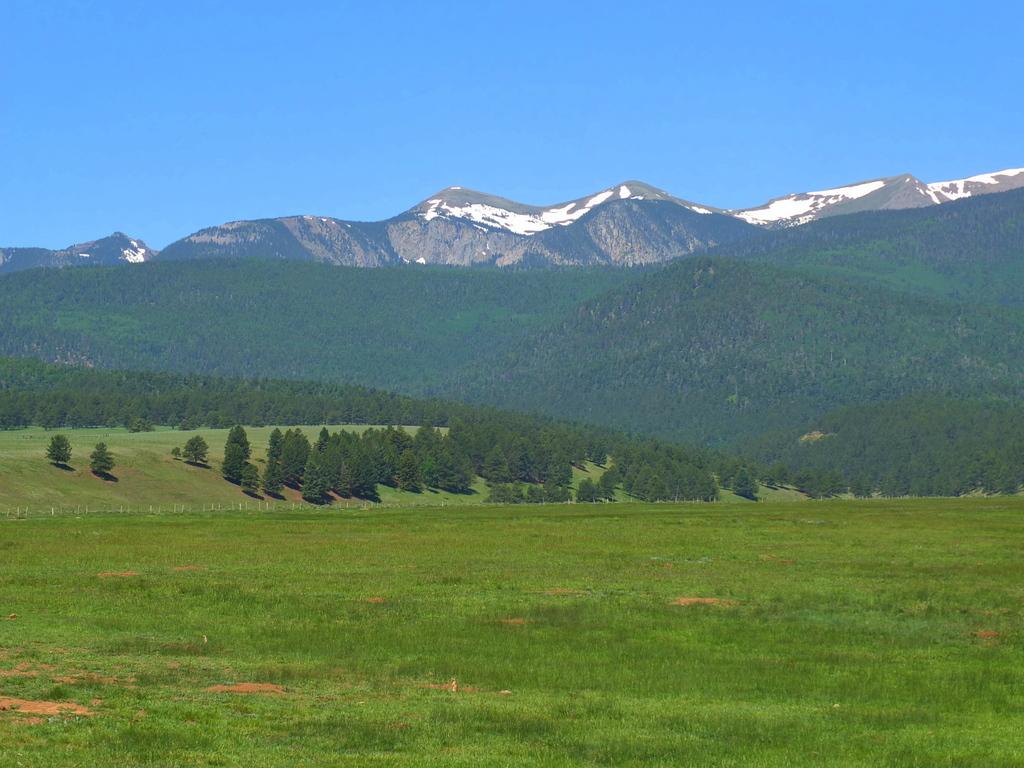 Wheeler Peak above the valley