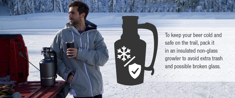 Camping with beer
