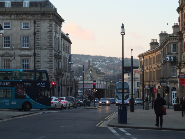 Huddersfield streetscape