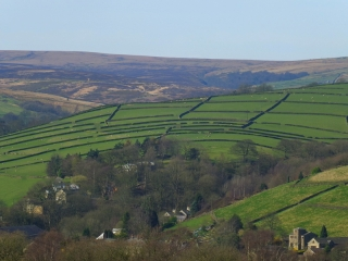 view toward the Pennines