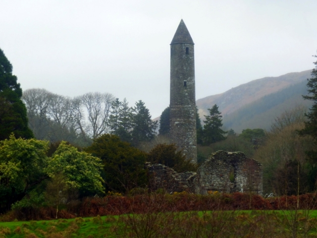 Round Tower at Glendolough