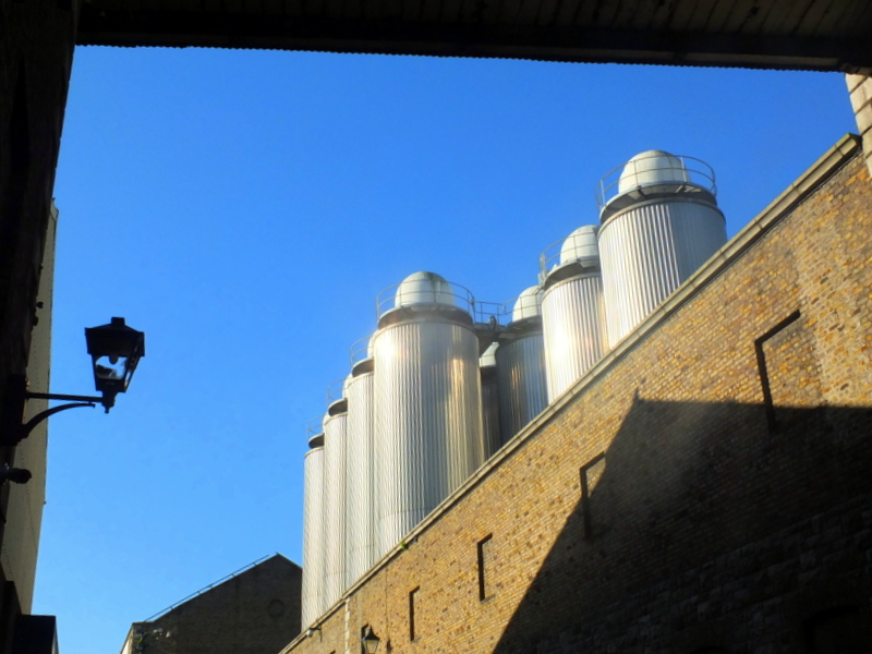 Guinness Brewery Fermenters