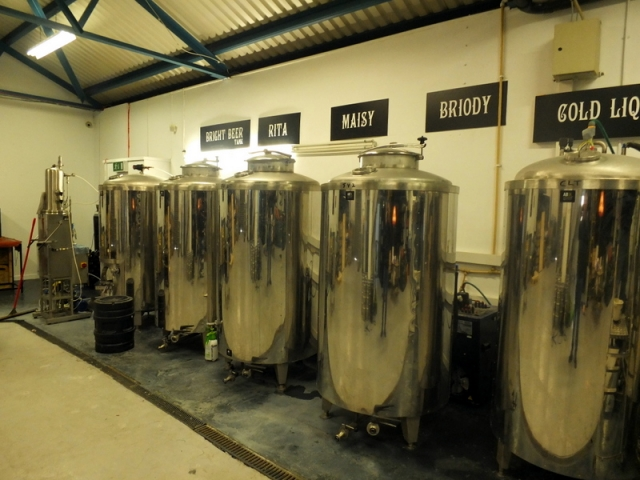 5 Lamps Brewery fermenters