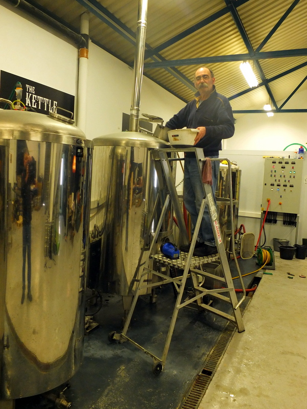 5 Lamps Brewery - Master Brewer William Harvey