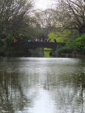Bridge at St. Stephen's Green