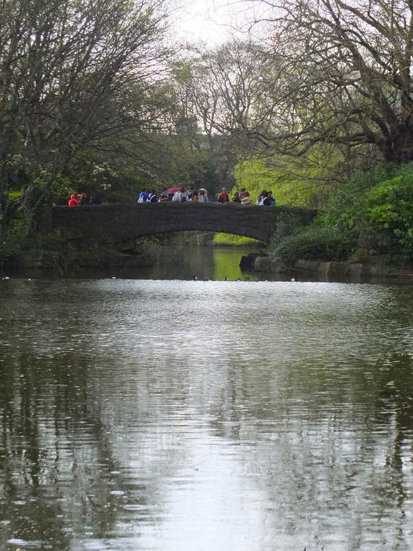 Bridge at St. Stephen's Green