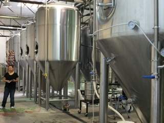 Tractor fermentation tanks