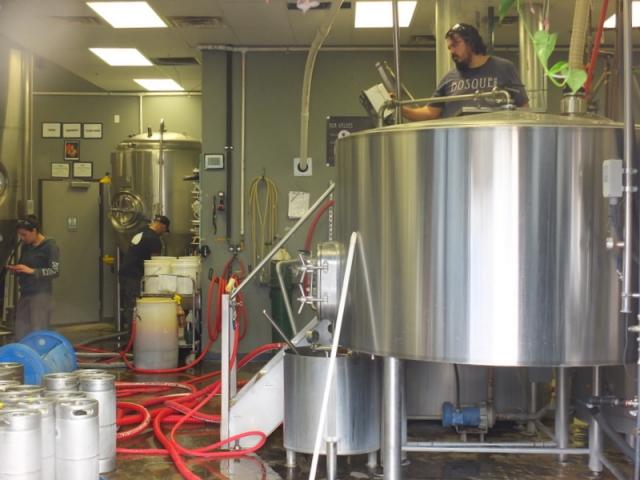 Bosque Brewing brew house