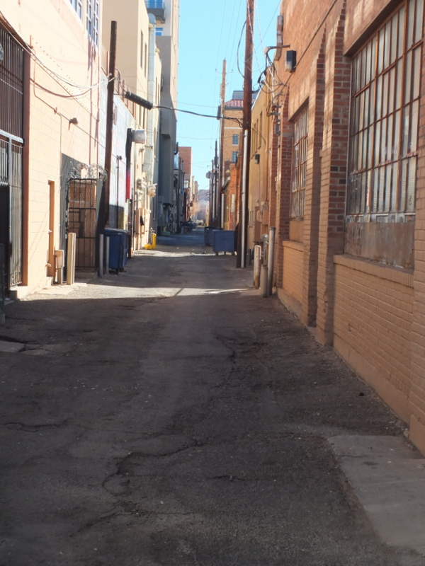 downtown alley