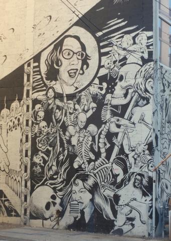 downtown street art