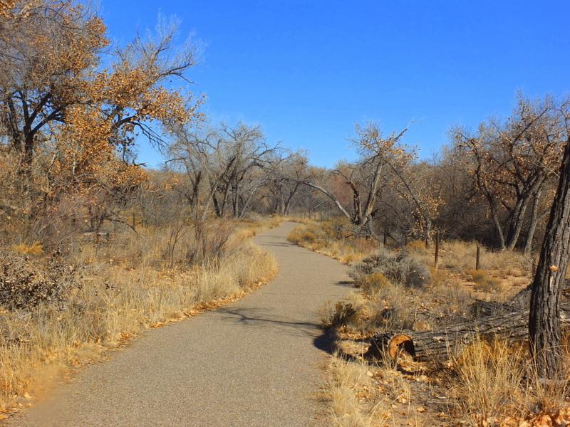 Aldo Leopold Trail at the Wildlife Center