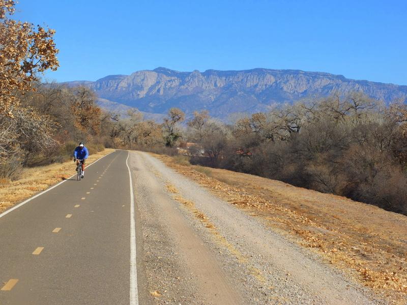 Sandia Mountains above Albuquerque
