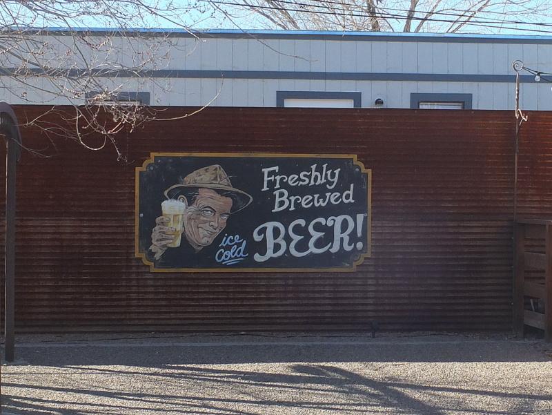 Freshly brewed beer!
