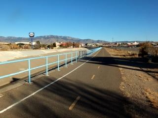 Embudo Channel Trail