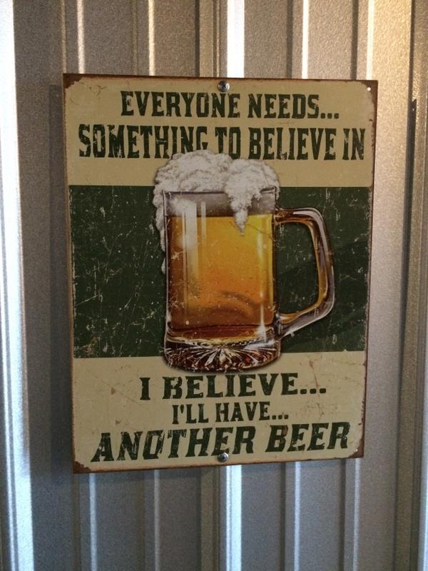 beer sign
