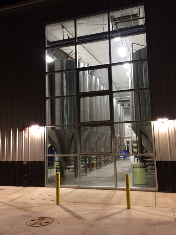 Marble Brewing fermentation hall