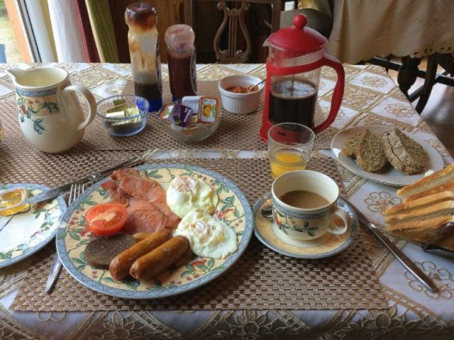 Hearty Breakfast at Coolalingo