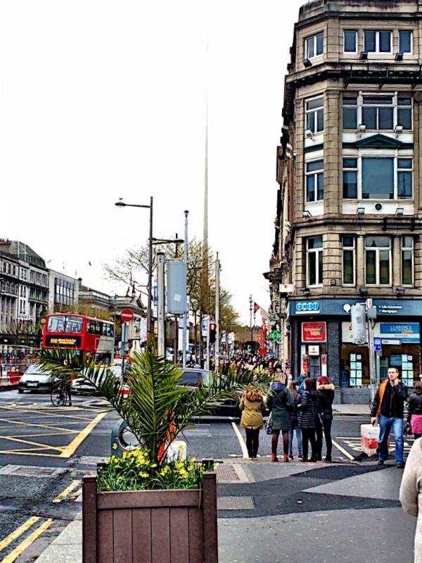 Dublin street corner