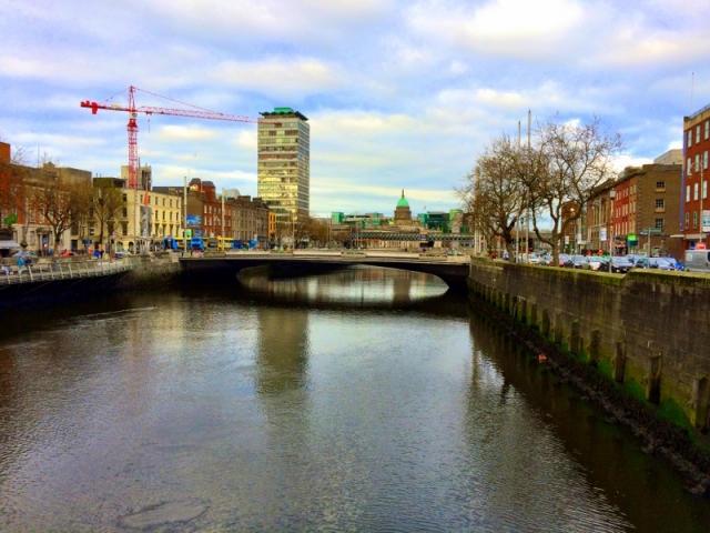 River Liffey in Central Dublin