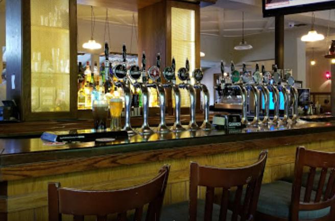bar at Casey's pub