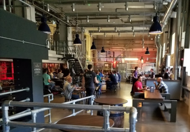 Open Gate Brewery taproom