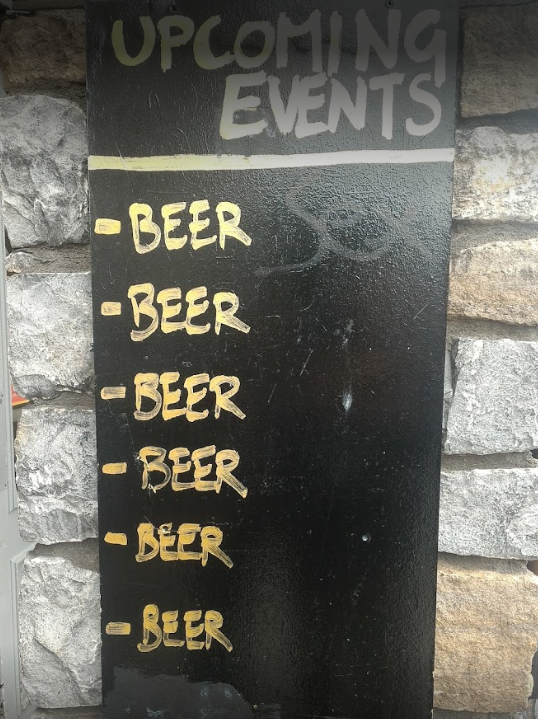 The Beer Market sign