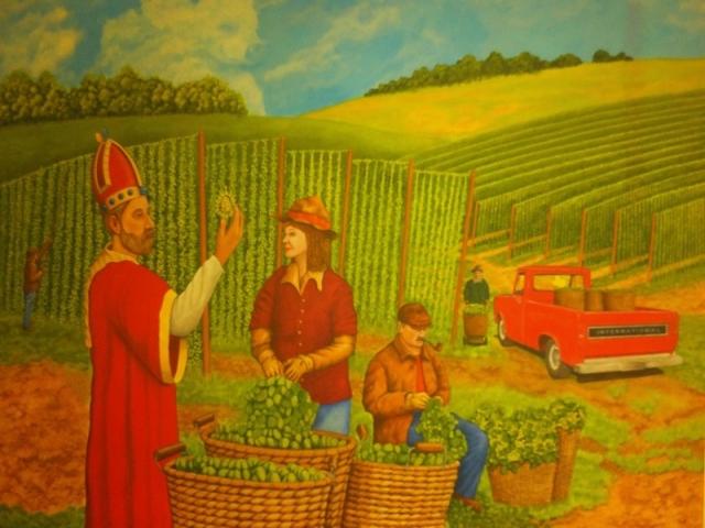 St. Arnold Mural