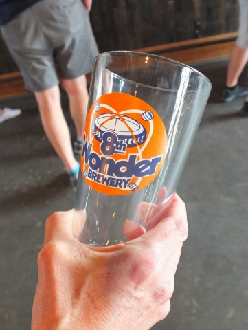 8th Wonder Brewery - bring your own glass for discount