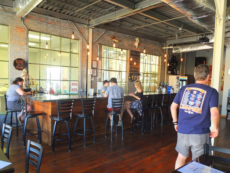 Sigma Brewing Company taproom