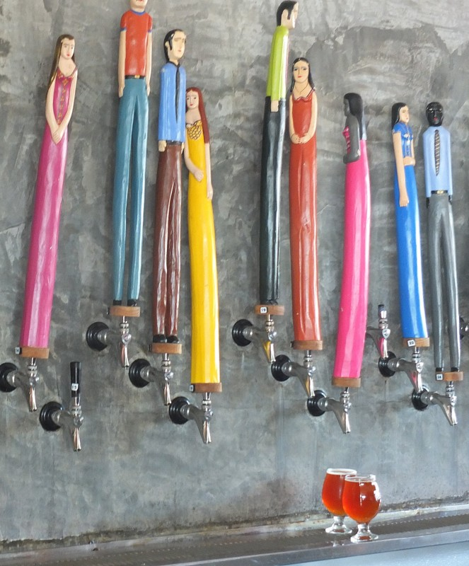 Axelrad - distinctive tap handles