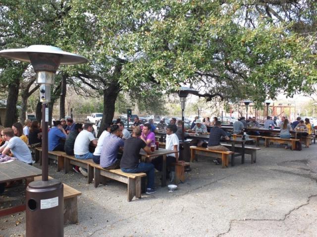 Austin Beer Garden Brewing Company Beer Garden