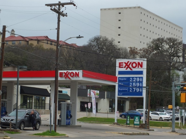 Home of the Exxon breakfast taco - San Marcos