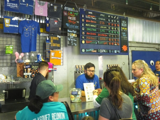 Eureka Heights Brewery taproom