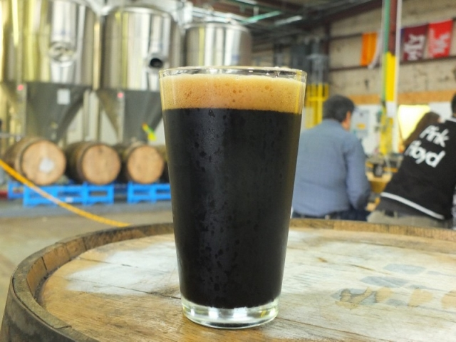 Eureka Heights Moo Caliente - milk stout with cayenne & cinnamon