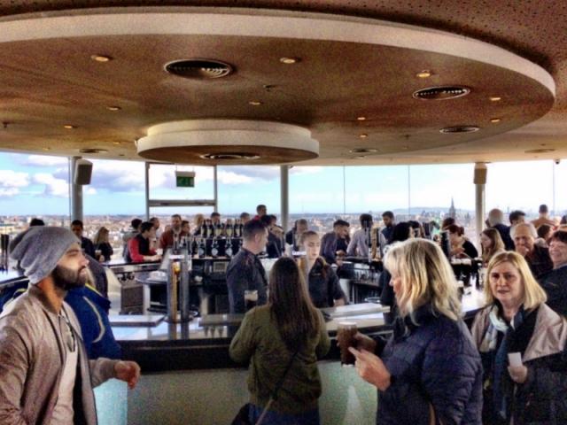 Guinness penthouse tasting room