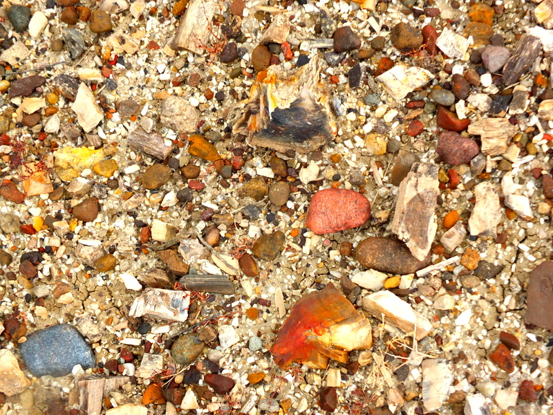 the stone underfoot