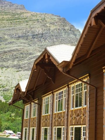 Lodge at Many Glacier