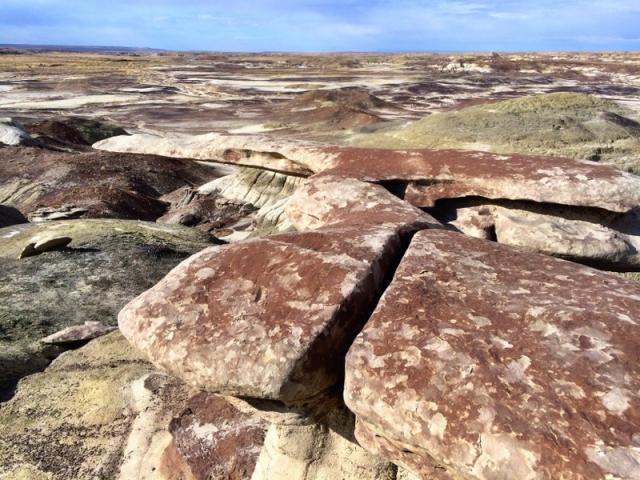 reddish rock