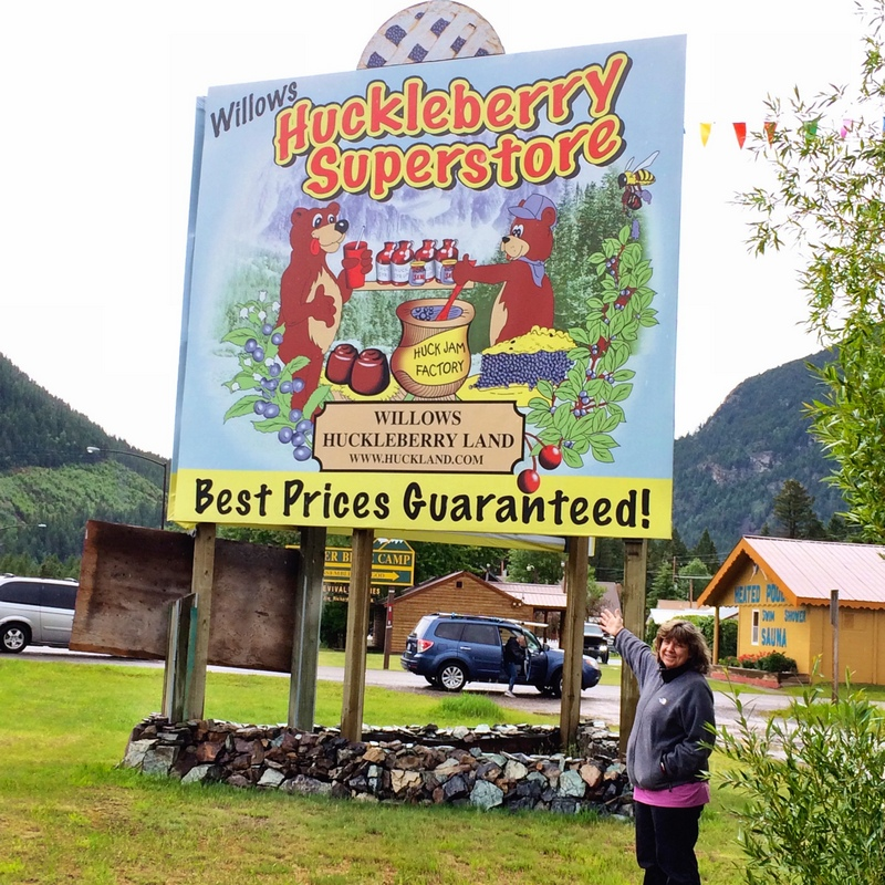 Huckleberries are BIG in Glacier Country