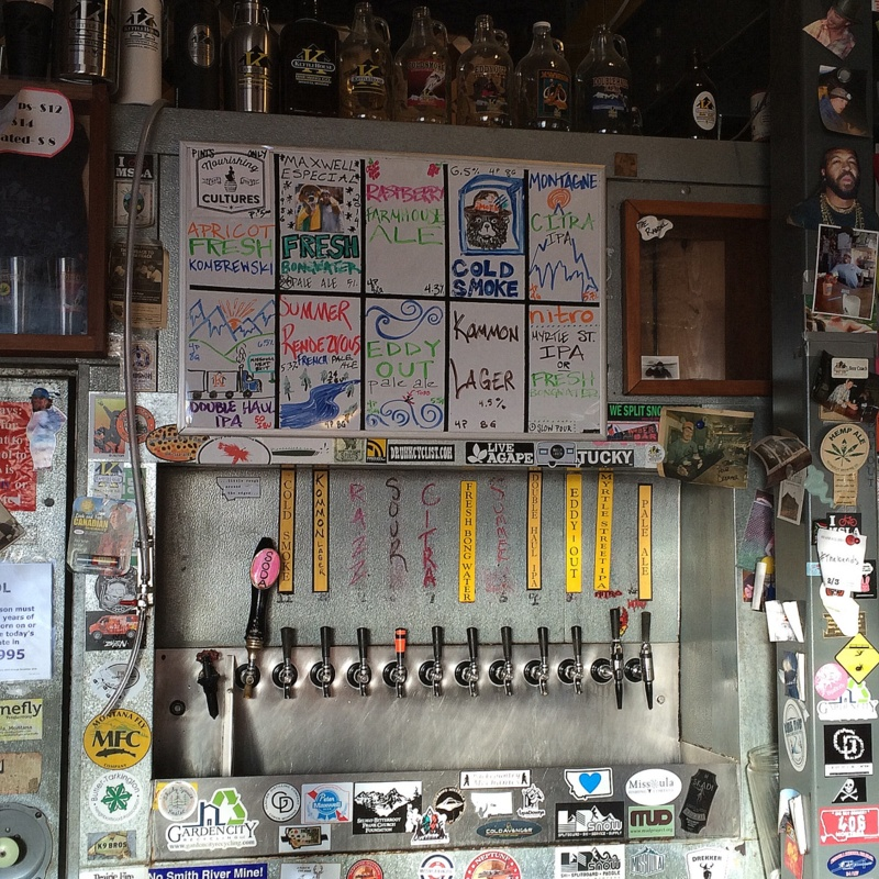 Kettle House taps